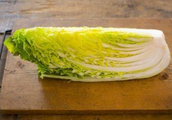白菜の扱い方