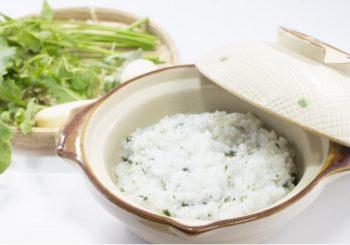 土鍋で作る七草粥