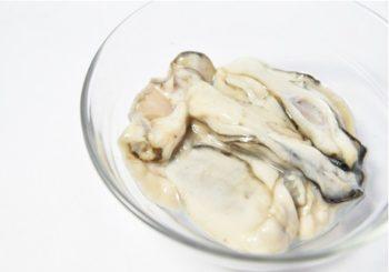 牡蠣のむき身の洗い方