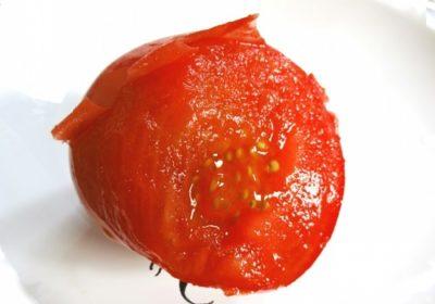 トマトの皮むきの方法
