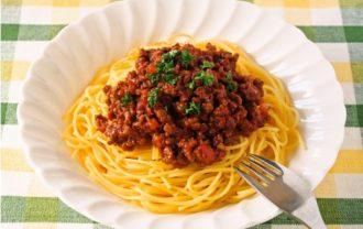 スパゲティっミートソース