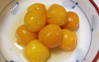 金柑のハチミツ煮